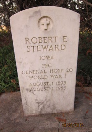 STEWARD, ROBERT E - Dallas County, Iowa   ROBERT E STEWARD