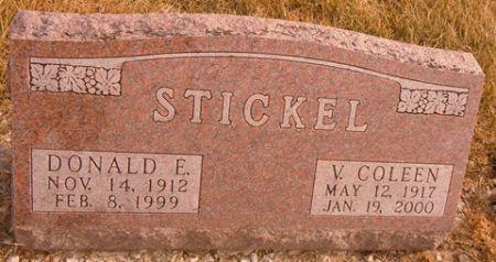 STICKEL, DONALD E. - Dallas County, Iowa   DONALD E. STICKEL