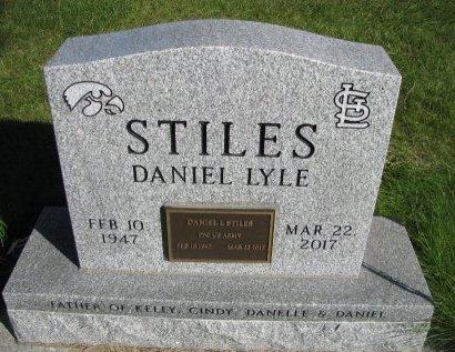 STILES, DANIEL LYLE - Dallas County, Iowa | DANIEL LYLE STILES