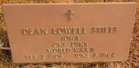 STILES, DEAN LOWELL - Dallas County, Iowa | DEAN LOWELL STILES