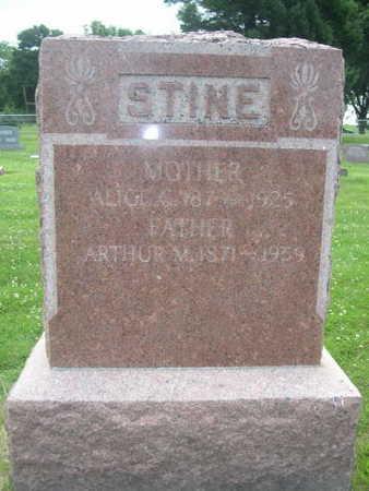STINE, ARTHUR M. - Dallas County, Iowa | ARTHUR M. STINE