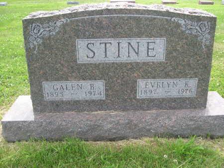 STINE, EVELYN K. - Dallas County, Iowa | EVELYN K. STINE