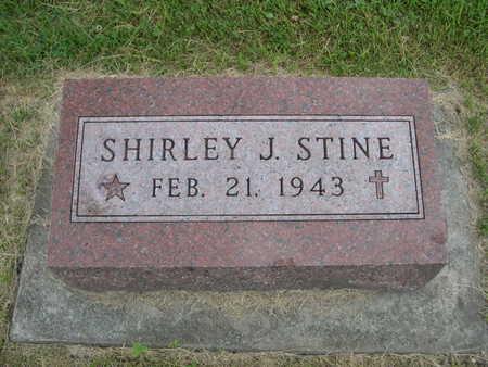 STINE, SHIRLEY J. - Dallas County, Iowa | SHIRLEY J. STINE