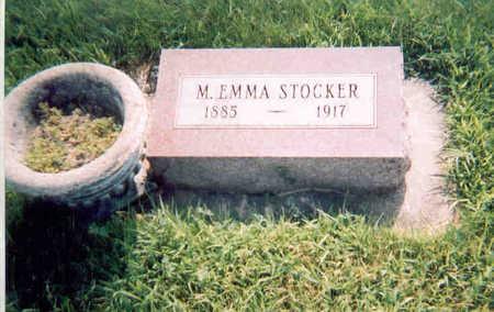 STOCKER, MARY EMMA - Dallas County, Iowa | MARY EMMA STOCKER