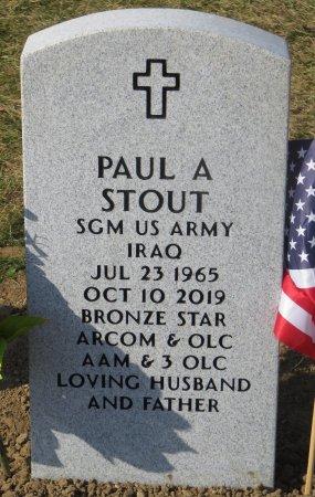STOUT, PAUL A - Dallas County, Iowa | PAUL A STOUT