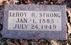 STRONG, LEROY R - Dallas County, Iowa   LEROY R STRONG