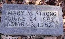 STRONG, MARY M - Dallas County, Iowa | MARY M STRONG