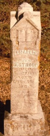 STROUP, ELIZABETH - Dallas County, Iowa   ELIZABETH STROUP
