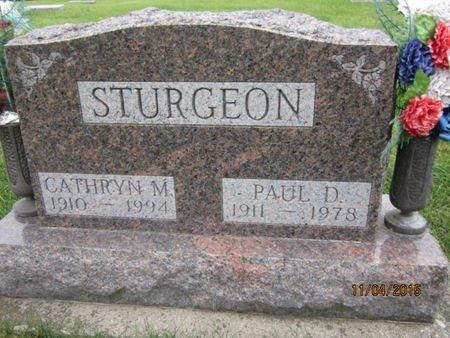 STURGEON, CATHRYN M - Dallas County, Iowa | CATHRYN M STURGEON