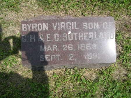 SUTHERLAND, BYRON VIRGIL - Dallas County, Iowa | BYRON VIRGIL SUTHERLAND