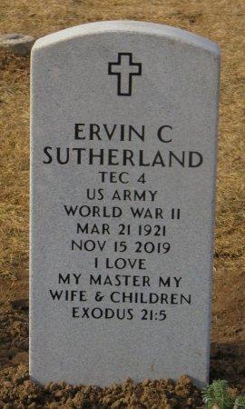 SUTHERLAND, ERVIN C - Dallas County, Iowa   ERVIN C SUTHERLAND