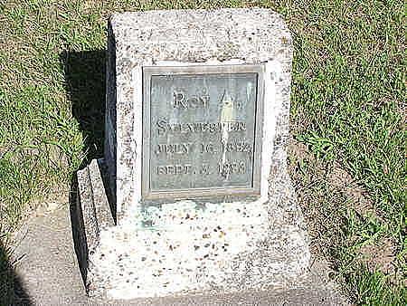 SYLVESTER, ROY A. - Dallas County, Iowa | ROY A. SYLVESTER