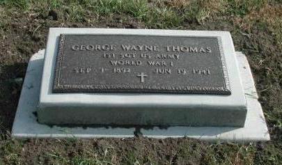 THOMAS, GEORGE WAYNE - Dallas County, Iowa | GEORGE WAYNE THOMAS