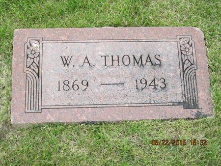 THOMAS, W A - Dallas County, Iowa | W A THOMAS