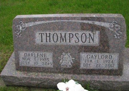 THOMPSON, GAYLORD - Dallas County, Iowa   GAYLORD THOMPSON