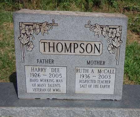 MCCALL THOMPSON, RUTH A - Dallas County, Iowa | RUTH A MCCALL THOMPSON