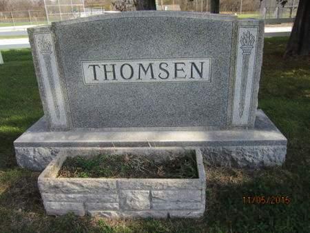 THOMSEN, FAMILY STONE - Dallas County, Iowa   FAMILY STONE THOMSEN