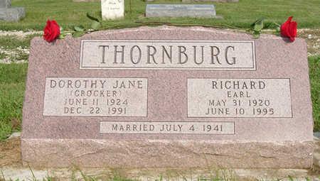 THORNBURG, RICHARD EARL - Dallas County, Iowa   RICHARD EARL THORNBURG
