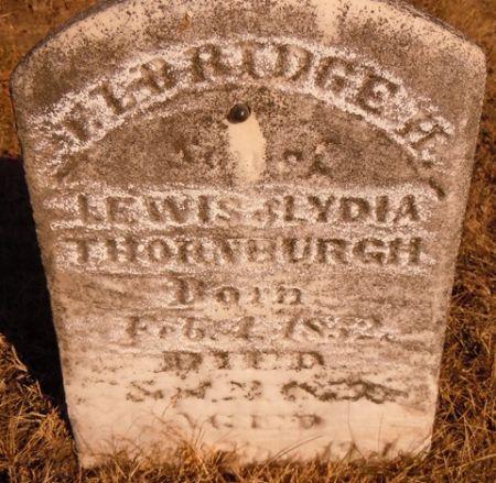 THORNBURGH, ELDRIDGE H. - Dallas County, Iowa | ELDRIDGE H. THORNBURGH
