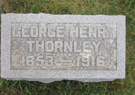 THORNLEY, GEORGE HENRY - Dallas County, Iowa | GEORGE HENRY THORNLEY