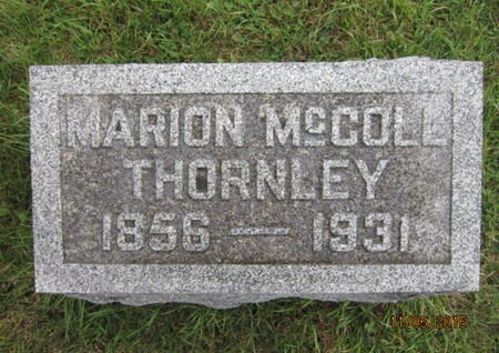 THORNLEY, MARION - Dallas County, Iowa   MARION THORNLEY
