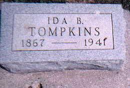 TOMPKINS, IDA - Dallas County, Iowa   IDA TOMPKINS