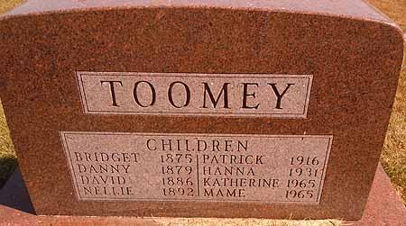 TOOMEY, HANNA - Dallas County, Iowa | HANNA TOOMEY