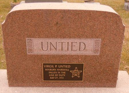 UNTIED, VIRGIL P. - Dallas County, Iowa   VIRGIL P. UNTIED