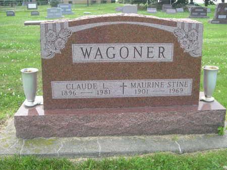 WAGONER, MAURINE STINE - Dallas County, Iowa | MAURINE STINE WAGONER