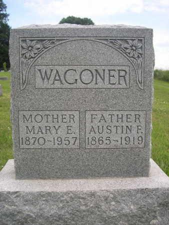 WAGONER, MARY E. - Dallas County, Iowa   MARY E. WAGONER