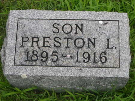 WAGONER, PRESTON L. - Dallas County, Iowa | PRESTON L. WAGONER