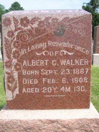 WALKER, ALBERT C. - Dallas County, Iowa   ALBERT C. WALKER