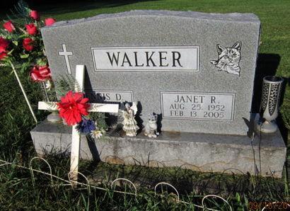 WALKER, JANET R - Dallas County, Iowa   JANET R WALKER