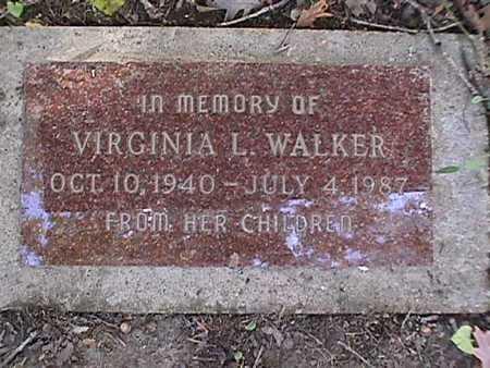 MERRIFIELD WALKER, VIRGINIA - Dallas County, Iowa   VIRGINIA MERRIFIELD WALKER