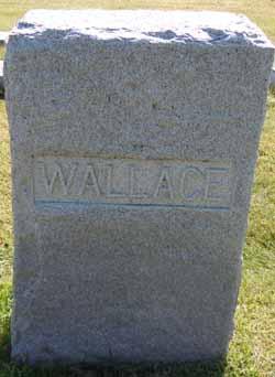 WALLACE, FAMILY STONE - Dallas County, Iowa   FAMILY STONE WALLACE