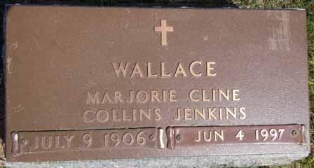 CLINE WALLACE, MARJORIE - Dallas County, Iowa | MARJORIE CLINE WALLACE