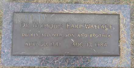 WALLACE, MARQUIS EARL - Dallas County, Iowa   MARQUIS EARL WALLACE