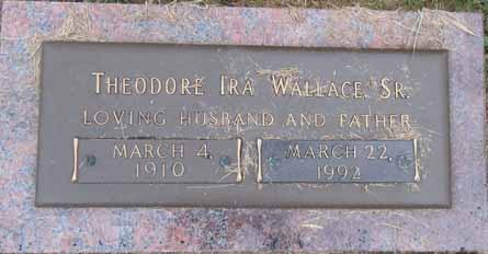 WALLACE, THEODORE IRA, SR. - Dallas County, Iowa | THEODORE IRA, SR. WALLACE