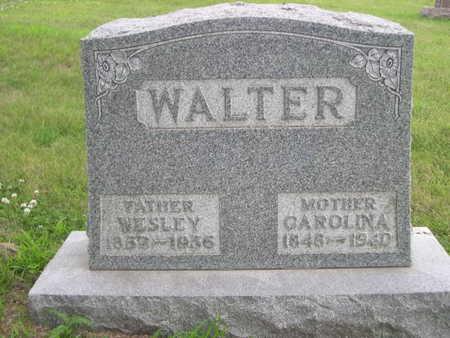 WALTER, WESLEY - Dallas County, Iowa | WESLEY WALTER