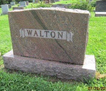 WALTON, FAMILY STONE - Dallas County, Iowa   FAMILY STONE WALTON