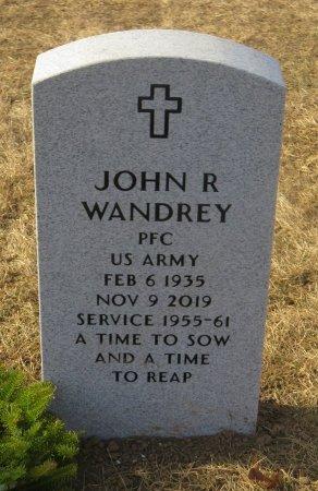 WANDREY, JOHN R - Dallas County, Iowa | JOHN R WANDREY