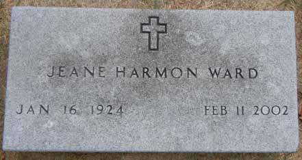 HARMON WARD, JEANE - Dallas County, Iowa | JEANE HARMON WARD