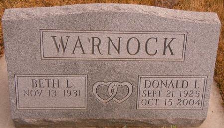 WARNOCK, DONALD L. - Dallas County, Iowa | DONALD L. WARNOCK
