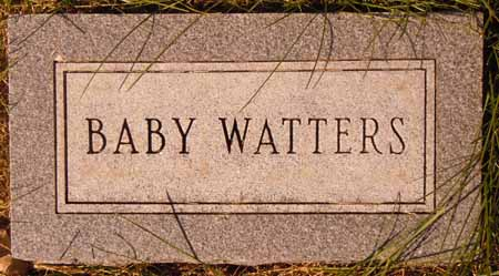 WATTERS, BABY - Dallas County, Iowa | BABY WATTERS
