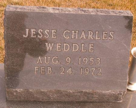WEDDLE, JESSE CHARLES - Dallas County, Iowa | JESSE CHARLES WEDDLE
