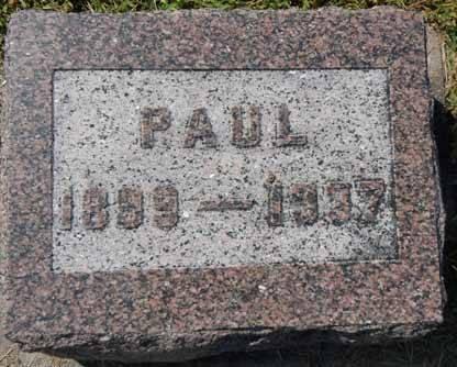 WEIL, PAUL - Dallas County, Iowa   PAUL WEIL