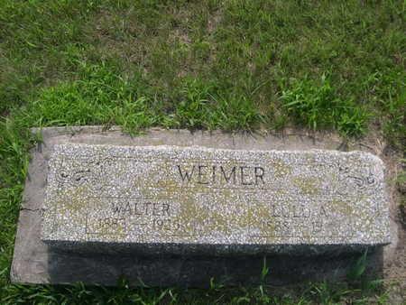 WEIMER, LULU A. - Dallas County, Iowa   LULU A. WEIMER