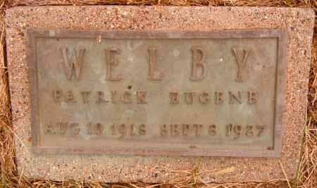 WELBY, PATRICK EUGENE - Dallas County, Iowa   PATRICK EUGENE WELBY