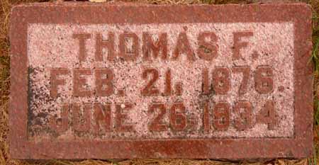 WELBY, THOMAS F. - Dallas County, Iowa   THOMAS F. WELBY