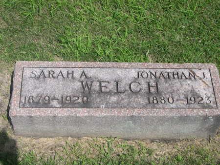 WELCH, SARAH A. - Dallas County, Iowa | SARAH A. WELCH